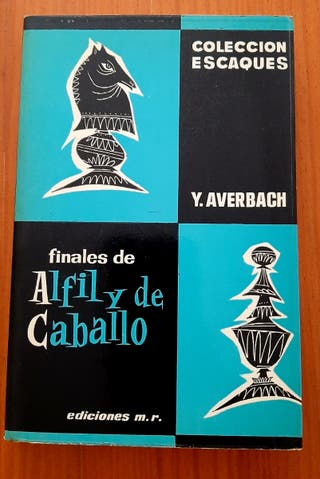 libro ajedrez finales alfil y caballo