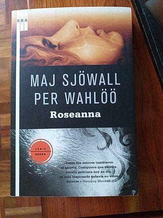 "LIBRO:""ROSEANNA"" DE MAJ SJÖWALL/PER WAHLÖO"