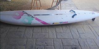 tabla wind surf y vela