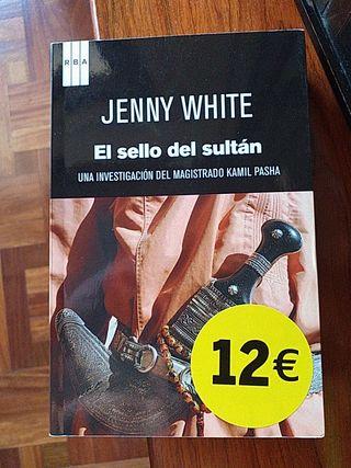 """LIBRO:""""EL SELLO DEL SULTÁN"""" DE JENNY WHITE"""
