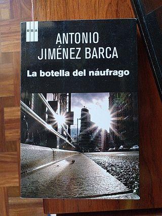 "LIBRO:""LA BOTELLA DEL NÁUFRAGO"" D A.JIMÉNEZ BARCA"