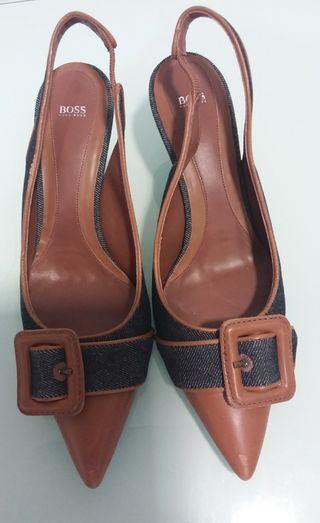 Zapatos Denim y piel Hugo Boss