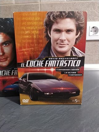 EL COCHE FANTASTICO DVD SERIE COMPLETA