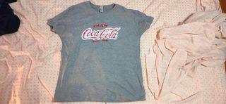 Camiseta Coca-Cola Hombre L Nueva