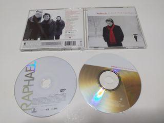 RAPHAEL VUELVE POR NAVIDAD CD+DVD BUEN ESTADO