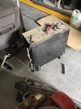 Bomba de gasoil y bomba eléctrica