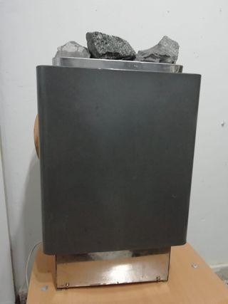 calefactor sauna vatios