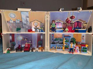 Casa muñecas maletín playmobil sin estrenar