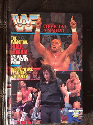 WWF 1992 Official Wrestling Annual