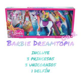 Barbie Dreamtopia Unicornios Pack - Juguetes Nuevo
