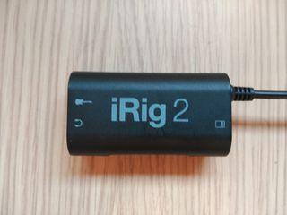 IK Multimedia iRig 2(interfaz de audio para bajo