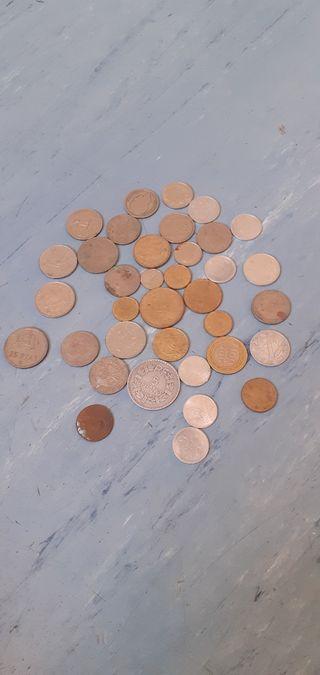 Lot de pièces de monnaies anciennes