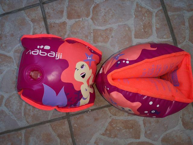 Manguitos inflables niñ@ interior de tela