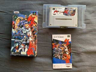 Battle Robot Retsuden Gundam SUPER FAMICON JAP