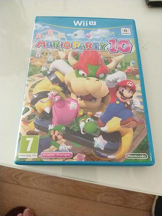 Juego Mario Patty 10. Para Wii U.