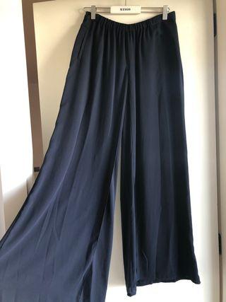 Pantalones anchos Zara