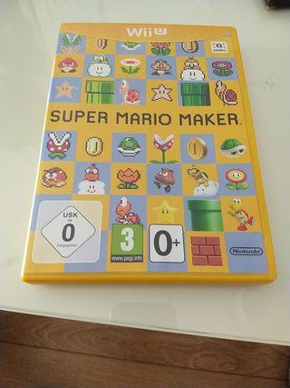 Juego Super Mario Maker. Wii U