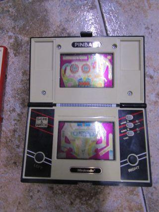 Nintendo game $ watch Pinball multi screen funcion