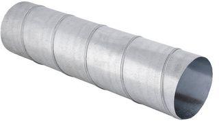 Tuberia de ventilacion helecoidal galvanizada