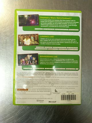 Live Arcade Game Pack, XBOX 360