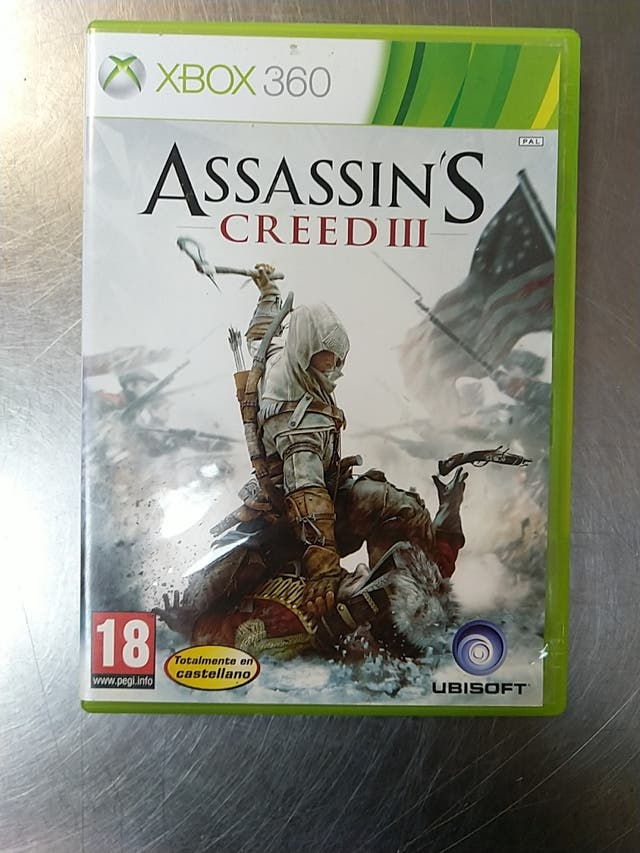 Assassin's Creed III, XBOX 360