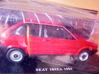 coche maqueta SEAT IBIZA 1984