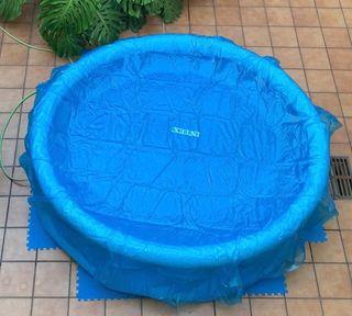 Piscina hinchable 300x 76 cm, pastillas cloro
