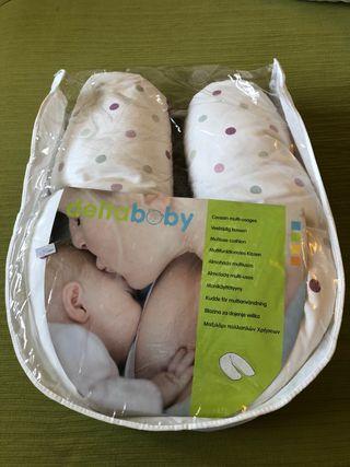 Cojín lactancia/embarazo Deltababy