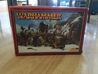 Caja Enanos Warhammer