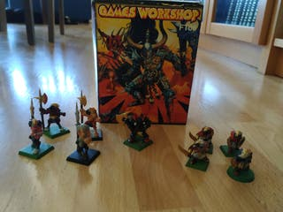 Warhammer Partida de Guerra del Caos
