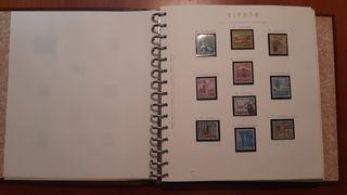 Colección de sellos - filatelia