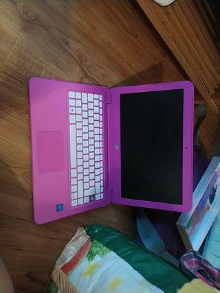 ordenador rosa HP stream