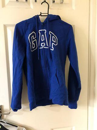 Blue GAP zip hoodie