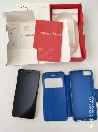 BQ Aquaris M4.5 + MicroSD32GB + Funda