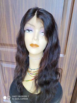 peluca cabello natural