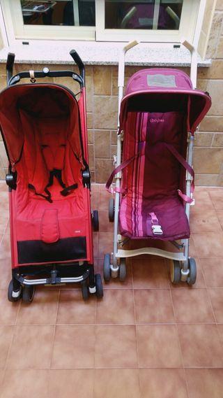 Sillas de paseo Cybex Onix y Bebe Confort Noa.