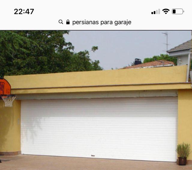 Persiana Garaje Aluminio H2500xL3000 cm