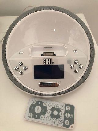 Reloj despertador JBL en perfecto estado