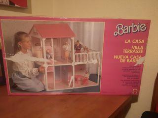 Casa chalet con ascensor de Barbie 1988