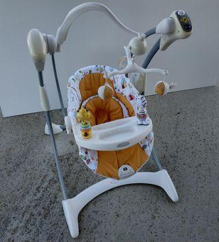 Columpio bebe marca Graco