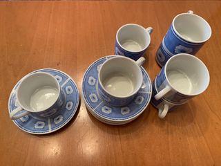 Juego de tazas de café/té