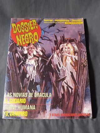 DOSIER NEGRO Almanaque de cómics de terror.