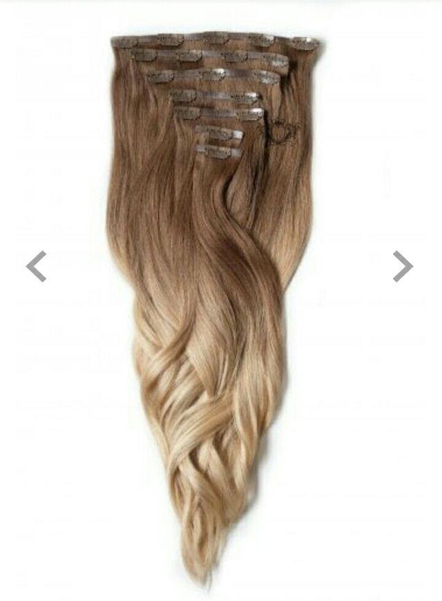 "Brand New Foxylocks human hair extensions 18"""