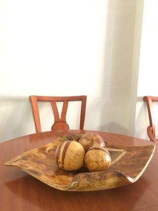 Centro cerámica mesa