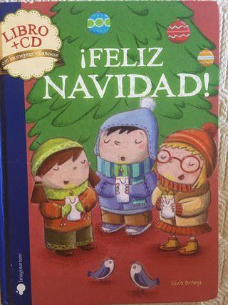 Libro Feliz Navidad + CD