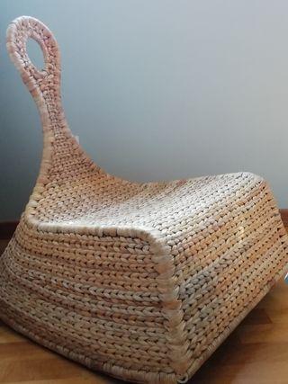 hamaca, sillón de ratán, tumbona, sillón diseño