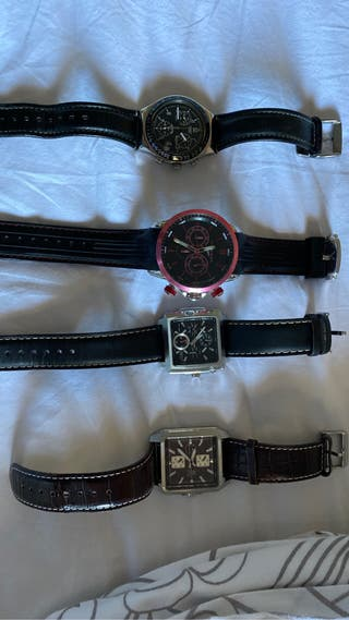 Lote relojes hombre