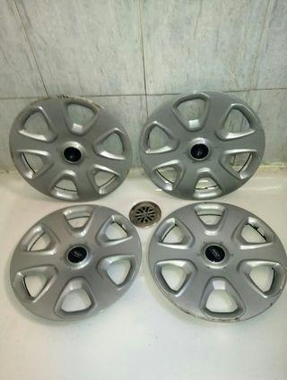 4 tapacubos Ford Ka 14 se envía a toda España l