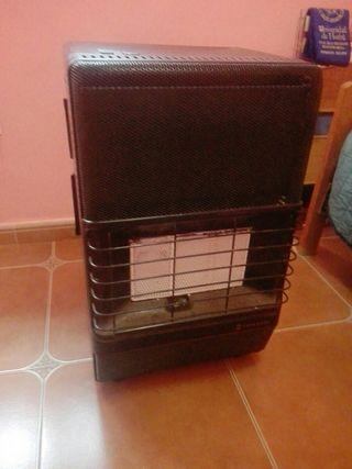 Calefactor gas.