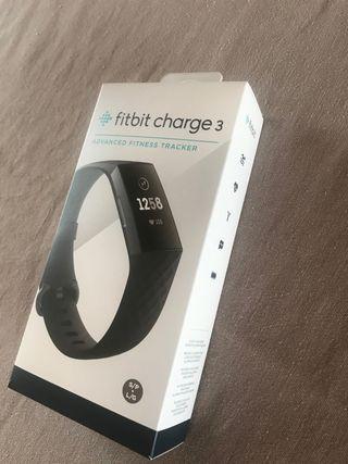 Pulsera/Reloj Fit Bit Charge 3